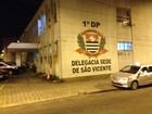 Trio é preso em São Vicente após roubo em Taboão da Serra