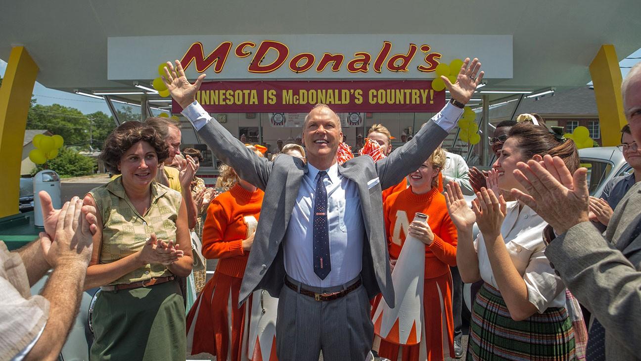Michael Keaton em 'Fome de Poder', filme sobre a rede de franquias do McDonald's (Foto: Divulgação )