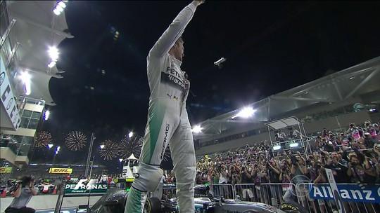 Em Abu Dhabi, Nico encerra ano com terceira vitória seguida. Massa é o 8º