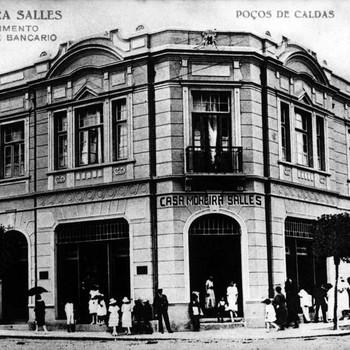 Casa Moreira Salles - década de 30 (Foto: Espaço Memória Itaú Unibanco)