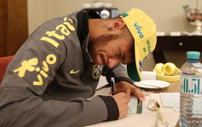 Neymar Jogadores Seleção (Foto: RafaelRibeiro / CBF)