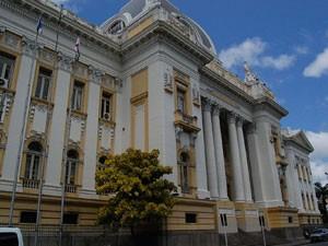 Tribunal de Justiça de Pernambuco (TJPE) (Foto: Vanessa Bahé/G1)