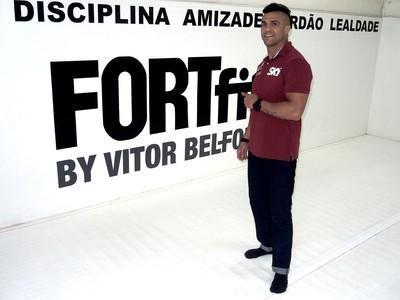 Vitor Belfort, lutador do UFC (Foto: Marcelo Barone)