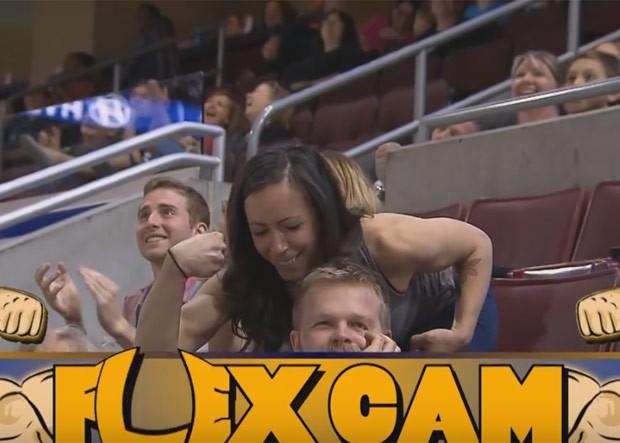 O que ele não esperava era ser humilhado por uma mulher (Foto: Reprodução/YouTube/Phillysoulfootball)