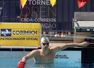 Cesar Cielo Open Natação Porto Alegre (Foto: Satiro Sodre/SSPress)