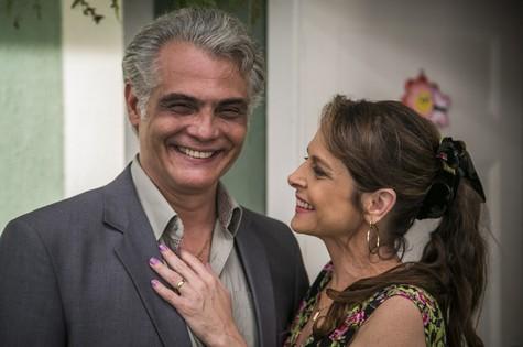 Tarcísio Filho e Drica Moraes (Foto: Paulo Belote/ TV Globo)
