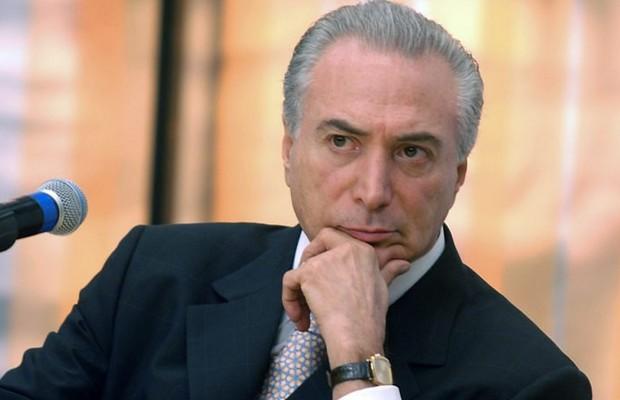 O vice-presidente da República, Michel Temer, durante seminário em Brasília (Foto: Agência Brasil)