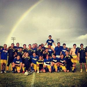 Equipe de Rugby de Roraima já conta com 25 praticantes masculinos e sete praticantes femininas (Foto: Divulgação/GloboEsporte.com)