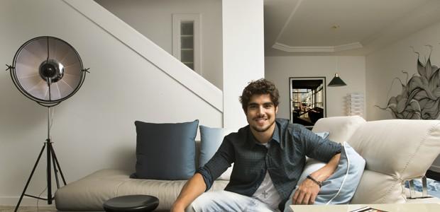 Casa do ator Caio Castro (Foto: Marcelo Magnani / divulgação )