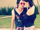 Fiuk e Sophia Abrahão posam em clima de romance