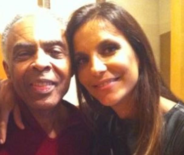 Ivete Sangalo e Gilberto Gil (Foto: Reprodução / Instagram)