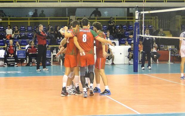 Mundial de clubes Vôlei Lokomotiv (Foto: Rafael Araújo)