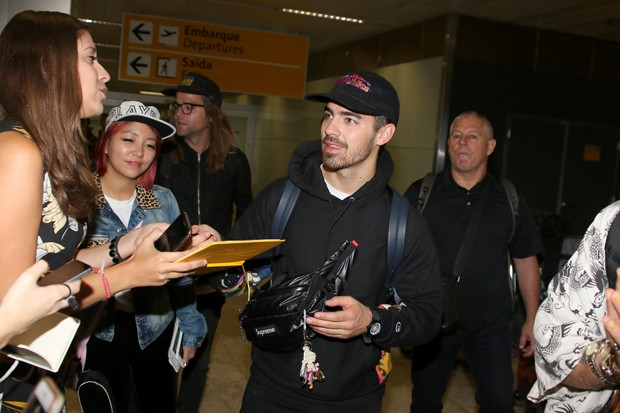 Joe Jonas (Foto: Thiago Duran/AgNews)