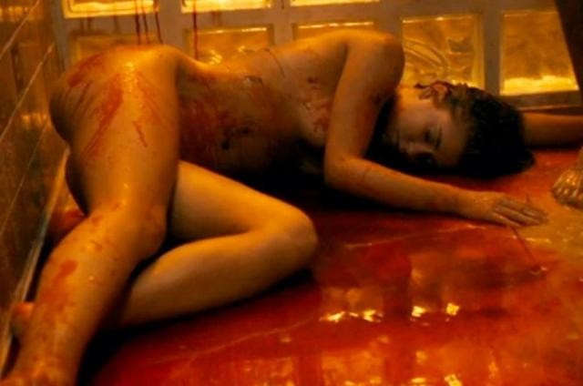 Marina Ruy Barbosa em cena de 'Justiça' (Foto: Reprodução)