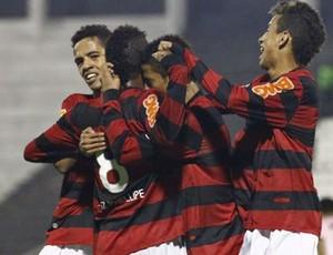 Flamengo empatou na estreia com o José Terán, na Libertadores Sub-20 (Foto: Divulgação Flamengo)