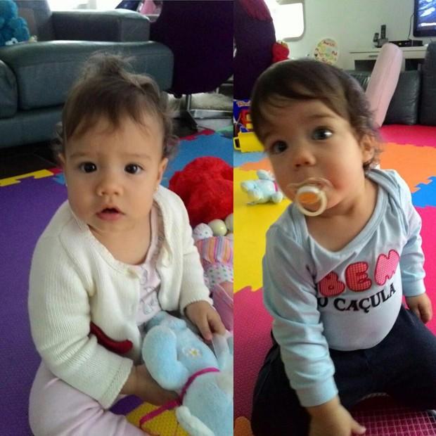 Filhos de Luana Piovani (Foto: Reprodução/ Instagram)