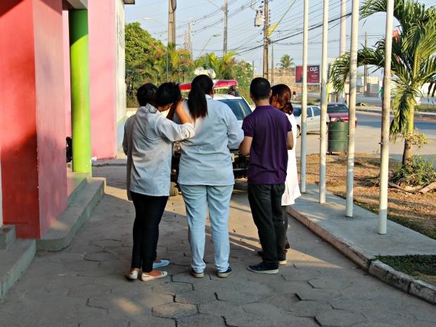 Vítimas temem novas ações criminosas durante trajeto de casa para o trabalho (Foto: Adneison Severiano/G1 AM)