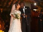 'Tudo perfeito', diz Fernanda Souza sobre casamento com Thiaguinho