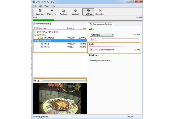 O DVD será separado em menu, vídeos e áudio (Foto: Reprodução/Barbara Mannara)