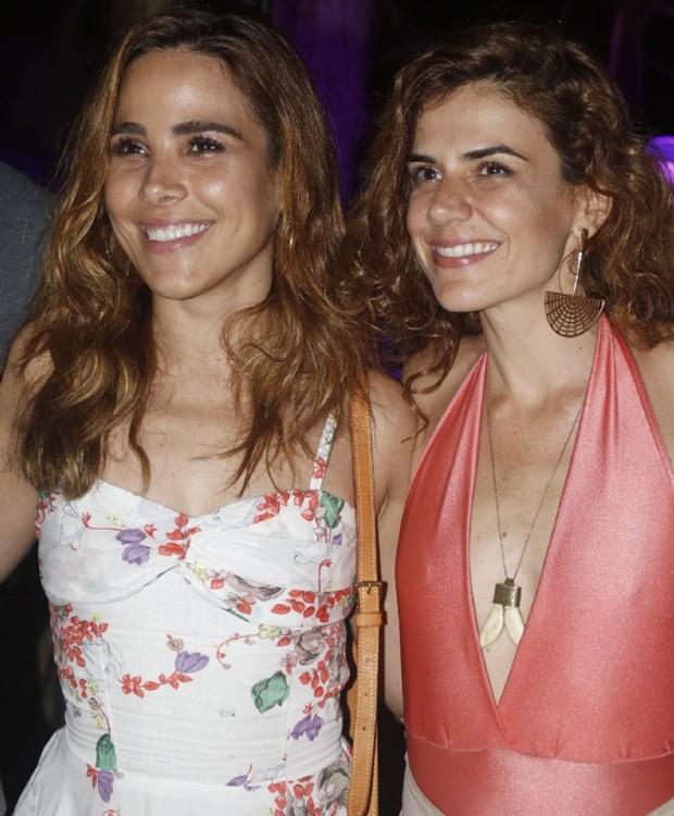 Wanessa Camargo e Mariana Aydar (Foto: Divulgação)