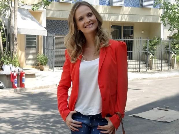 Fernanda Rodrigues volta à TV como a Virgínia, de Sete Vidas (Foto: Maria Eduarda Freitas/Gshow)