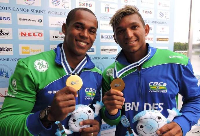 Erlon de Souza Isaquias Queiroz (Foto: Divulgação / CBCa)