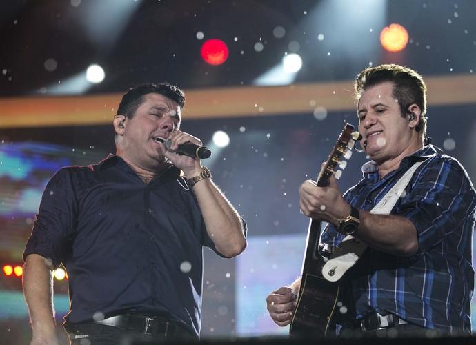 Bruno e Marrone e seus 29 anos de estrada no Festeja Brasil (Foto: Inácio Moraes/Gshow)