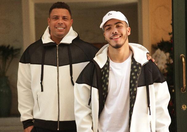 Ronaldo e Ronaldo (Foto: Divulgação)