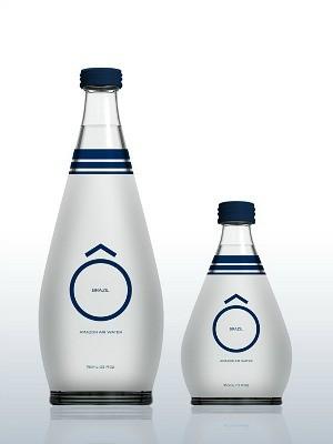 Preço sugerido de água será de 6,50 euros, o que equivale a R$ 21  (Foto: Divulgação/Amazon Air Water)