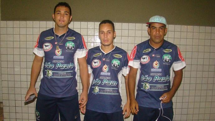 Novito, Milton Boqueirão e Nego Pai (Foto: Tarcísio Ribeiro/ Maranguape F.C.)