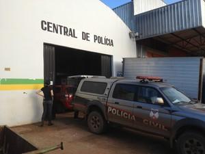 Central de Polícia em Porto Velho (Foto: Camilo Estevam/G1)