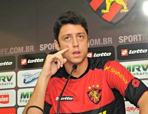 Felipe Menezes - Sport (Foto: Aldo Carneiro/Pernambuco Press)