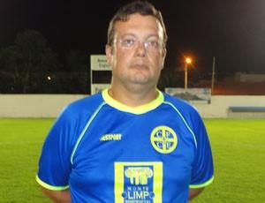 Paulo Cesar Caroço, técnico do ES de Marilândia (Foto: Washingtongrei Rodes)
