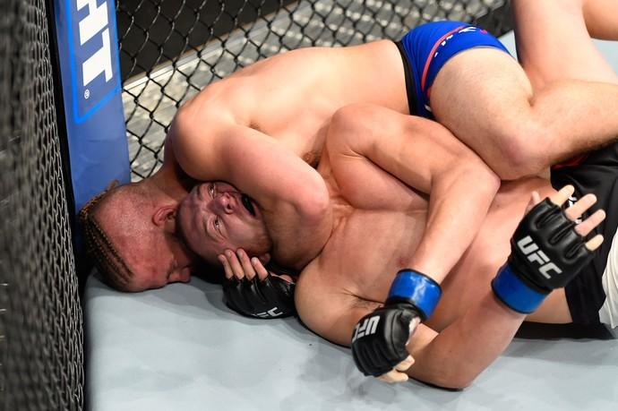 Nik Lentz, Michael McBride, UFC 203, MMA (Foto: Getty Images)