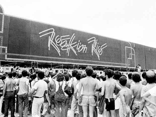 Resultado de imagem para rock in rio 1985
