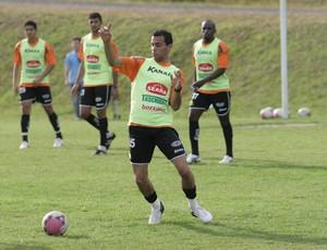 Fransérgio, volante do Criciúma (Foto: Fernando Ribeiro, Divulgação / Criciúma EC)