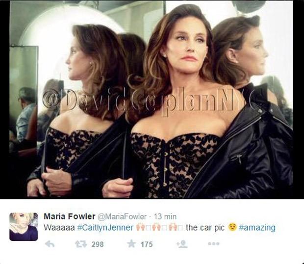 Caitlyn Jenner (Foto: Reprodução/ Twitter)