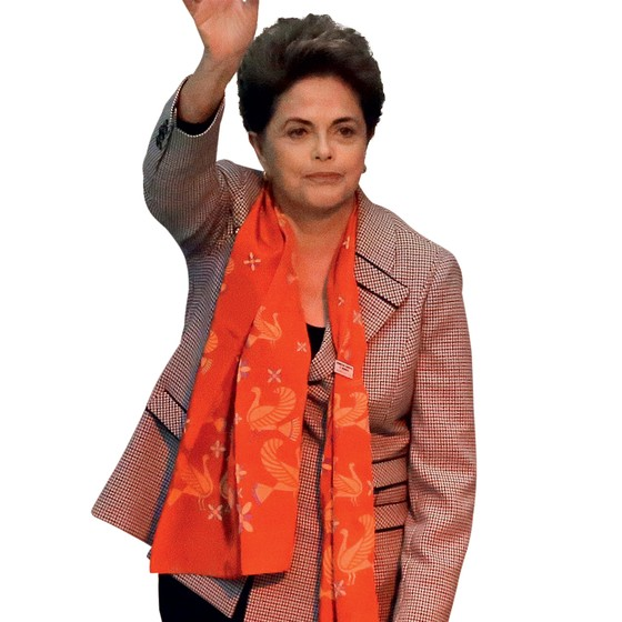 Presidente afastada Dilma Rousseff (Foto: Nelson Antoine/FramePhoto/Agência O Globo)