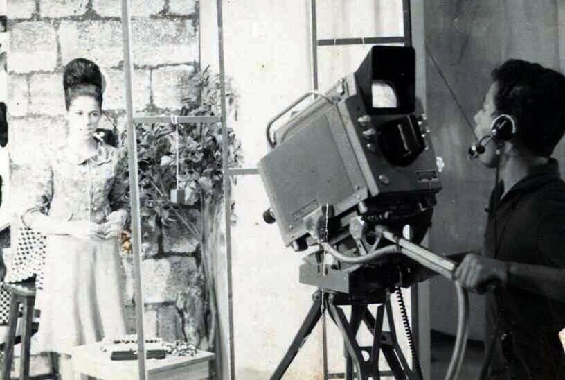 Programa sendo Filmado na DEC 80 (Foto: TVCA)