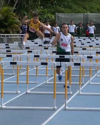 Atletismo faz parte das modalidades da Olimpíada Acadêmica (Foto: Reprodução/TV Rio Sul)