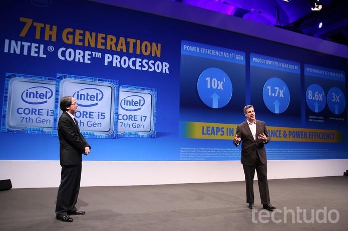 Com estreia apenas nos notebooks, sétima geração não foi destaque da Intel em 2016 (Foto: Fabrício Vitorino/TechTudo)