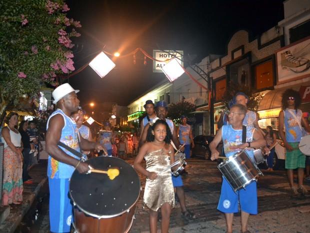 Apresentação dos blocos durante o Carnaval de 2015 (Foto: Divulgação)