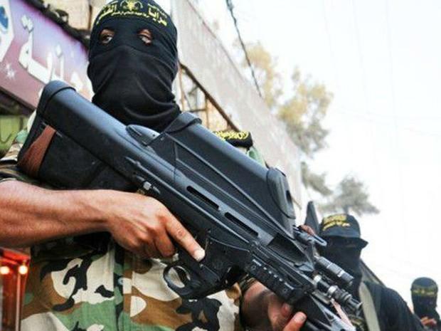 A Brigada Al-Quds na parada em 2011 (Foto: BBC/Brigada Al Quds)