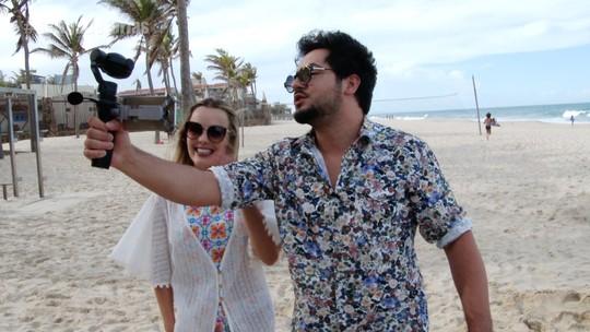 Thaeme e Thiago se aventuram em clima de férias no Ceará