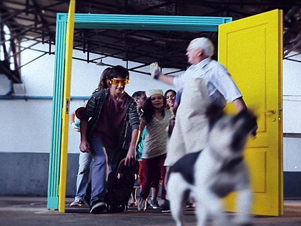 Abertura foi gravada em 15 dias em São Paulo (Foto: Malhação/TV Globo)