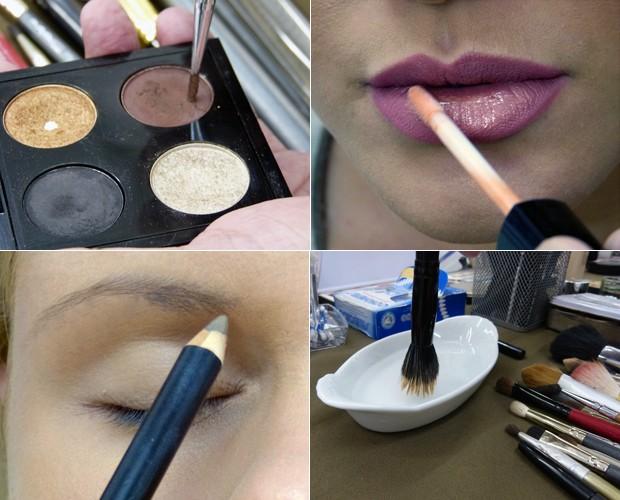 Inspire-se nas dicas de Plínio Peloso para um maquiagem de noiva perfeita! (Foto: Mais Você / TV Globo)