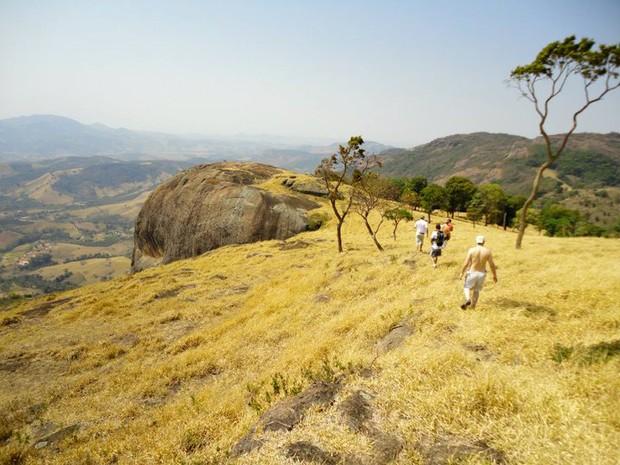Pedra do Elefante Ecoturismo Andradas (Foto: Arquivo Pessoal/ Paulo Nhola Pontes)