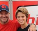 """Barrichello dividirá kart das 500 milhas com filho: """"Melhor das sensações"""""""