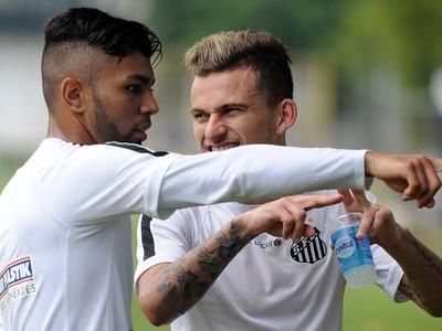 Gabriel Lucas Lima Santos (Foto: Ivan Storti / Divulgação Santos FC)