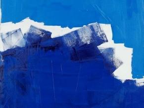 O mar na visão do artista Lucio Piantino (Foto: Reprodução)